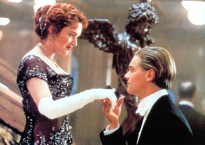 Leonardo DiCaprio, Kate Winslet, Titanic, Jack Dawson, Rose DeWitt Bukater