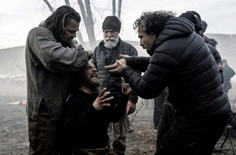 Leonardo DiCaprio, Tom Hardy i Alejandro G. Iñárritu