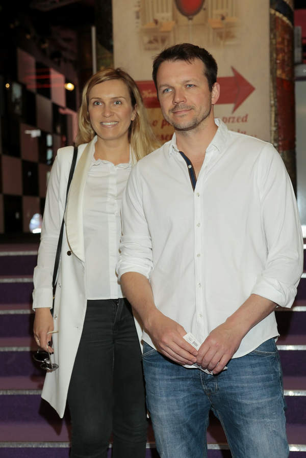 Lesław Żurek z żoną