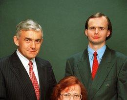 Leszek Miller z żoną i synem Leszkiem Jr; Nie żyje syn Leszka Millera