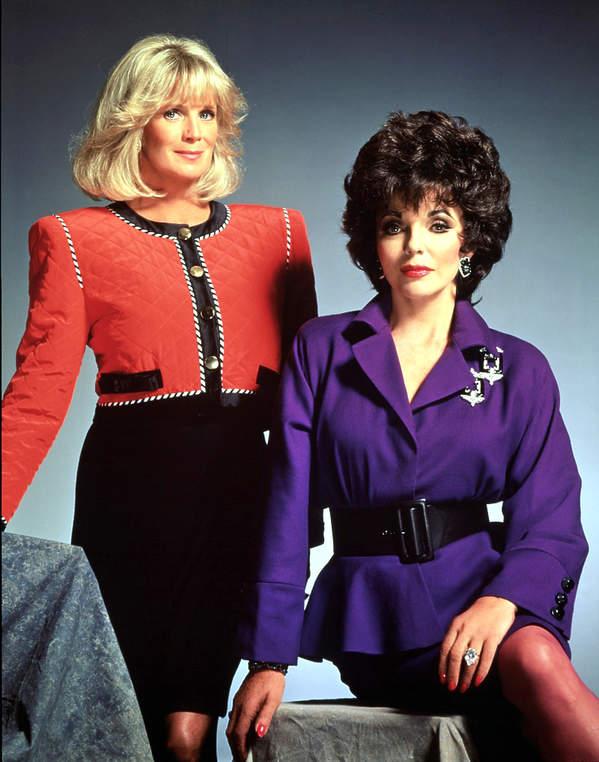 Linda Evans i Joan Collins, Dynastia