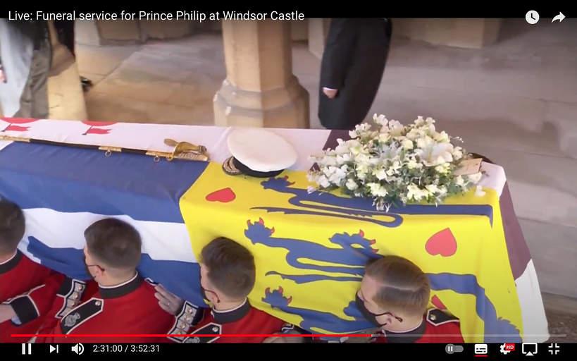 list królowej dla Filipa