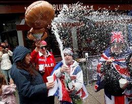 Londyn w dniu narodzin dziecka Meghan i Harry'ego