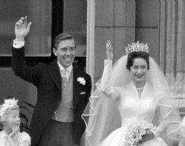 Lord Snowdon i księżniczka Małgorzata ślub