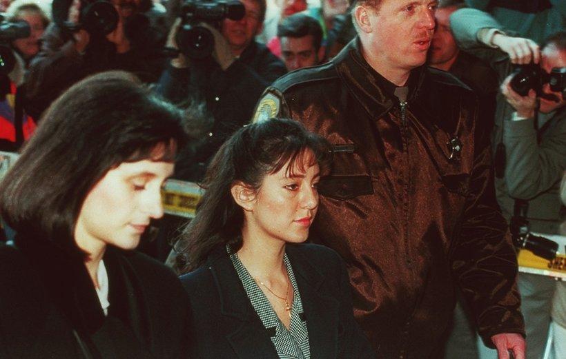 Lorena Bobbitt w drodze do sądu