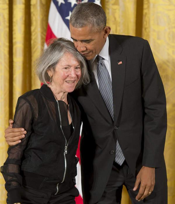 Louise Gluck, Barack Obama