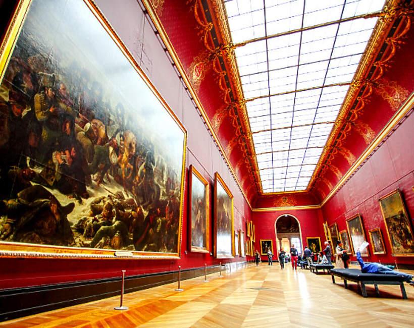Louvre, wystawy online