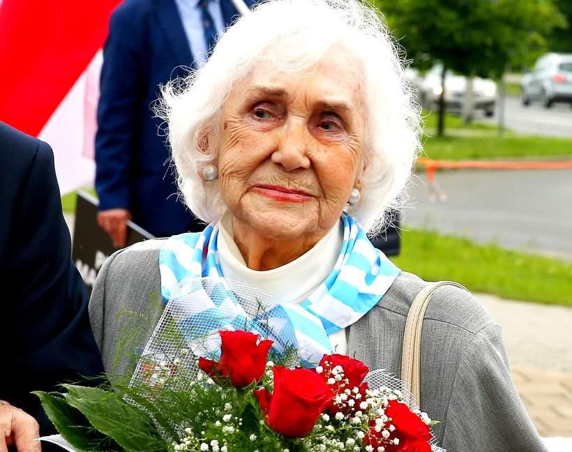 Lucyna Adamkiewicz, więźniarka Auschwitz