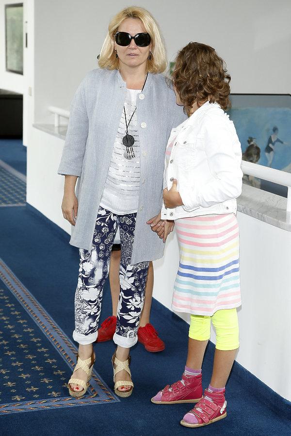 Lucyna Malec z córką