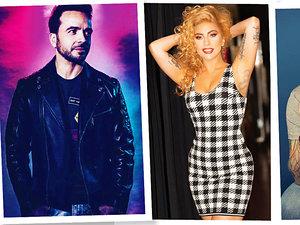 Luis Fonsi, Lady Gaga, Ed Sheeran, Bruno Mars, Grammy 2018
