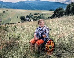 """Łukasz Berezak: """"Chcę pomagać innym, bo mnie niewiele może już pomóc""""."""
