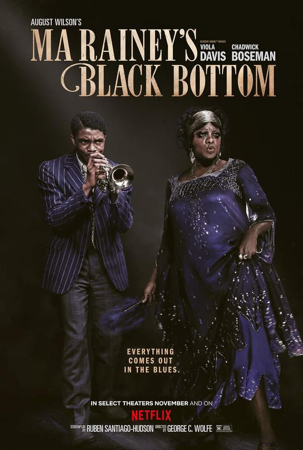 Ma Rainey: Matka bluesa, film, plakat