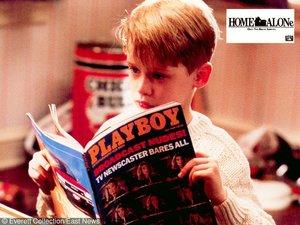 "Macaulay Culkin czyta ""Playboya"""