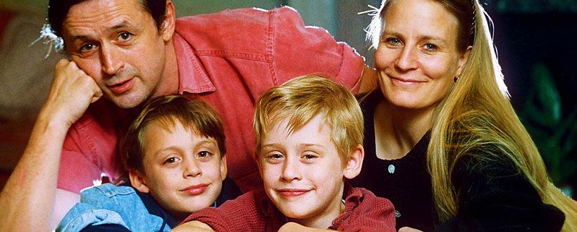Macaulay Culkin, Kit Culkin, Christopher Culkin, Kevin sam w domu