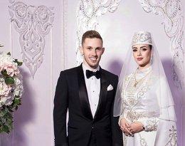 Maciej Rybus i jego żona Lana