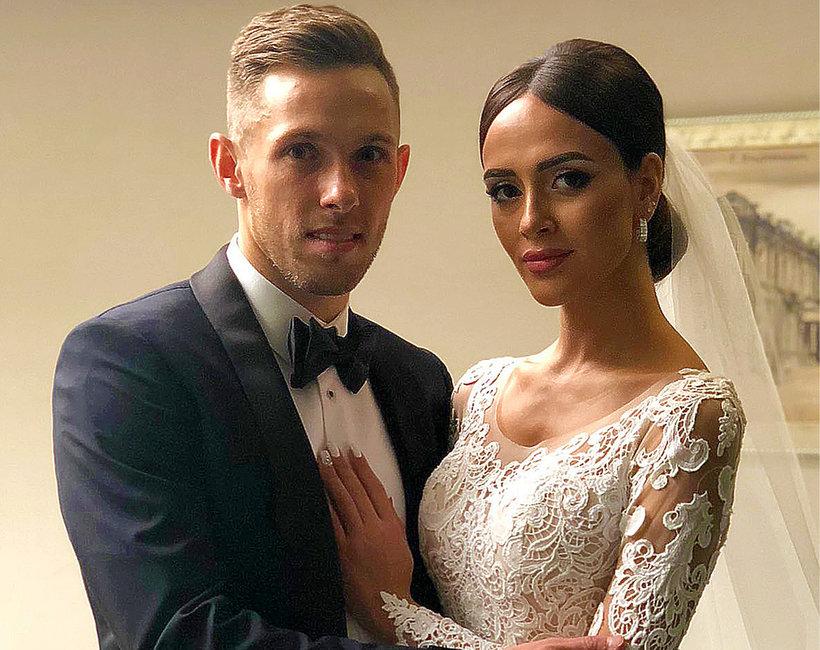 Maciej Rybus z żoną, Kim jest żona Macieja Rybusa?