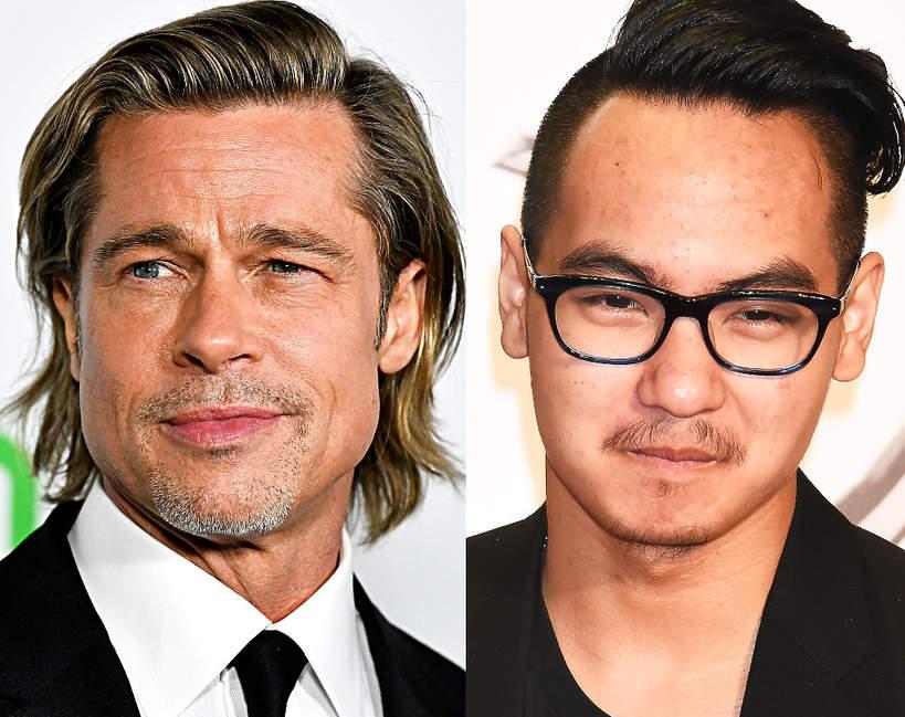 Maddox Jolie-Pitt złożył zeznania. Oskarża Brada Pitta o przemoc domową