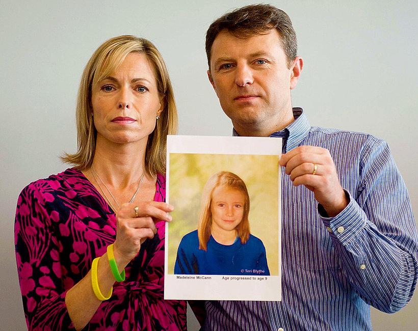 Madeleine McCann, rodzice zaginionej dziewczynki