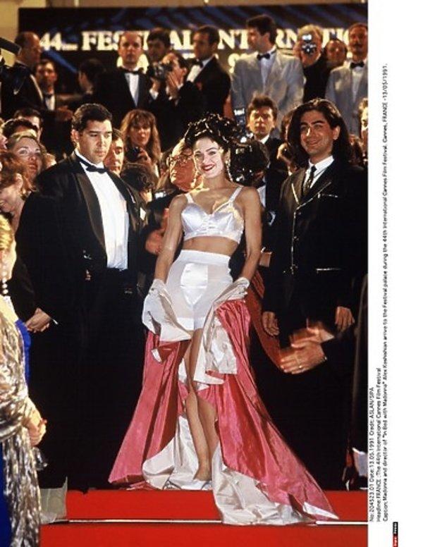 Madonna w Cannes