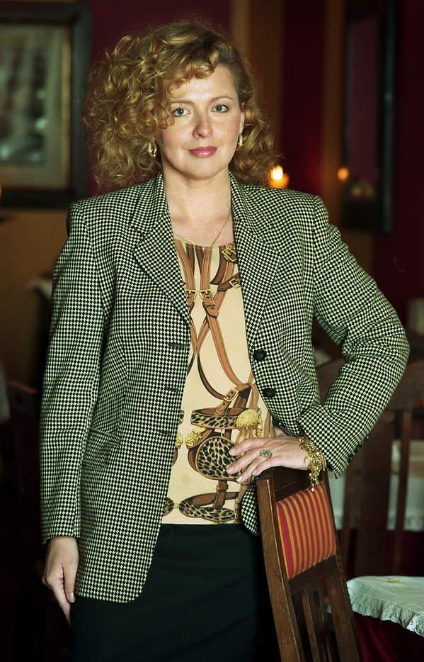 Magda Gessler na początku kariery