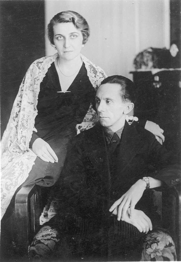 Magda i Joseph Goebbelsowie