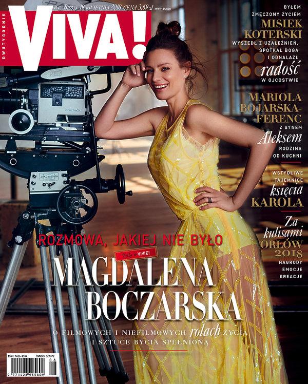 Magdalena Boczarska, Viva! kwiecień 2018, OKŁADKA