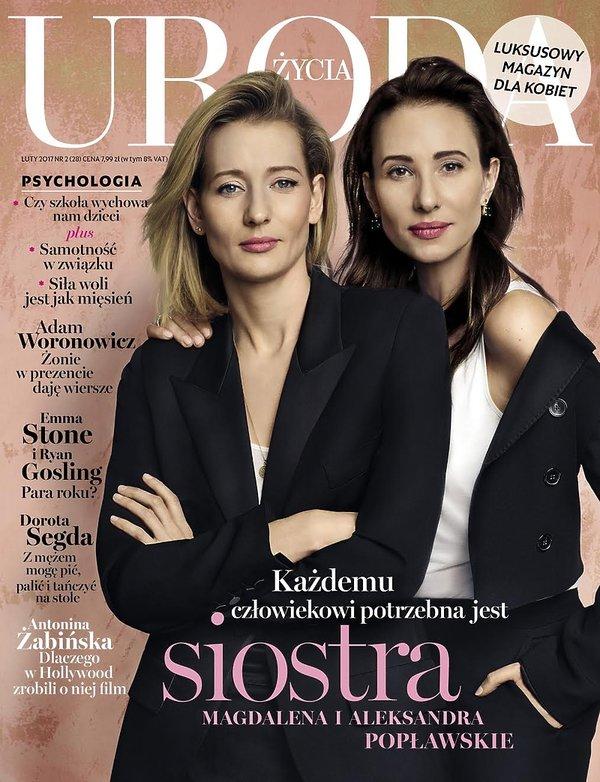 Magdalena i Aleksandra Popławskie, Uroda Życia, luty 2017
