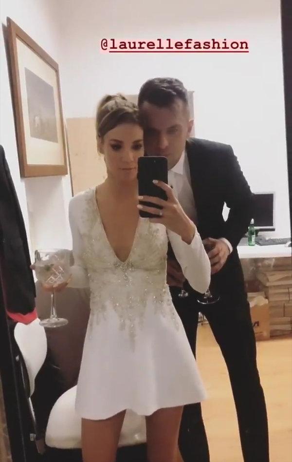 Maja Bohosiewicz, druga suknia ślubna