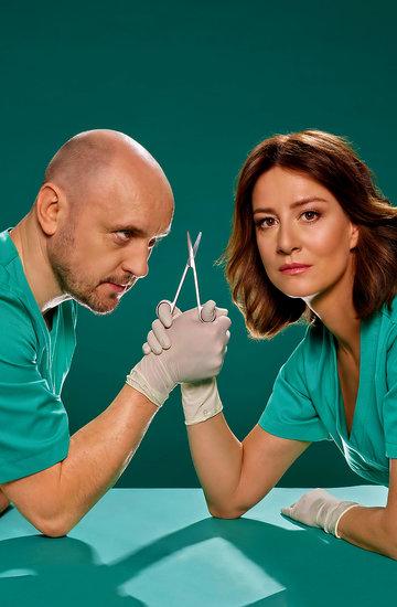 Maja Ostaszewska i Adam Woronowicz w serialu Diagnoza