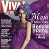 Maja Ostaszewska na okładce magazynu Viva!