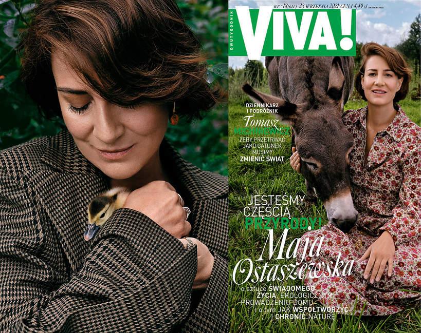 Maja Ostaszewska, Viva! 18/2021