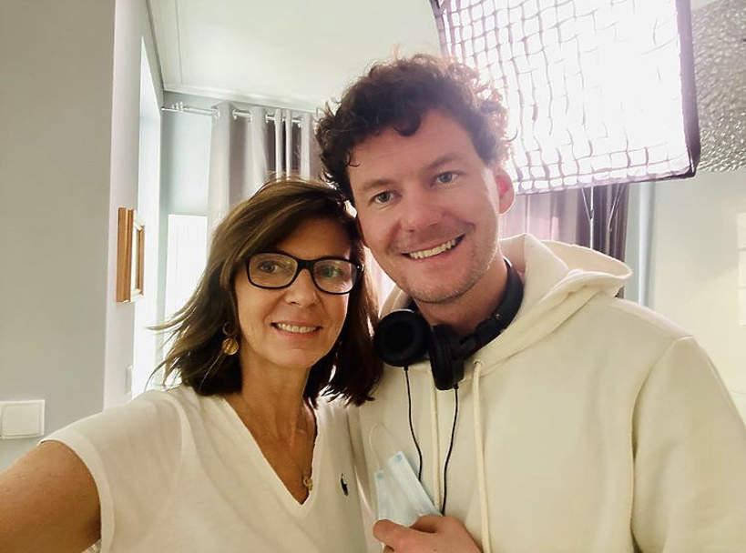 Makary Janowski z mamą Katarzyną Kalicińską.jpeg