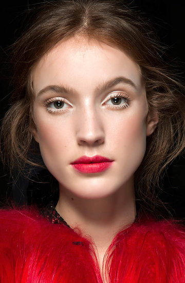 makijaż na święta - inspiracje z pokazów