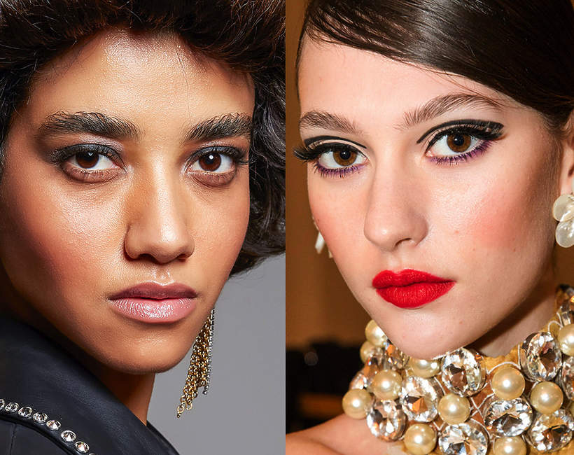 makijaż oka trendy jesień/zima 2021/2022