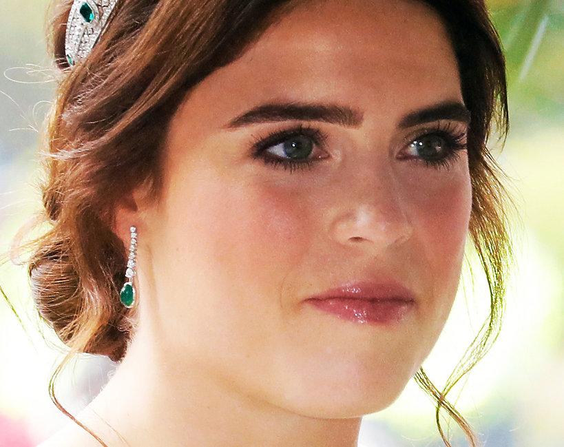 makijaż ślubny księżniczki Eugenii