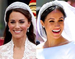Porównajcie ślubne makijaże Kate Middleton i Meghan Markle!