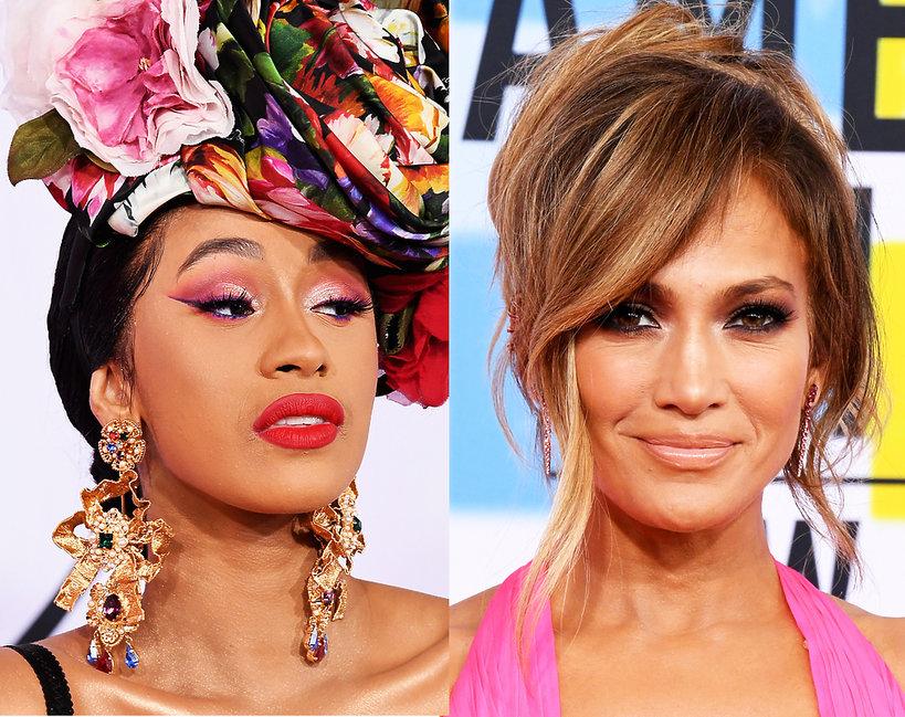 Makijaże i fryzury American Musi Awards