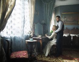 Małaszyński i Magdalena Cielecka na planie Belle epoque