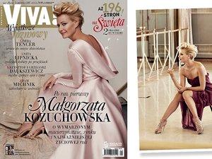 Małgorzata Kożuchowska - gwiazda najnowszej Vivy!