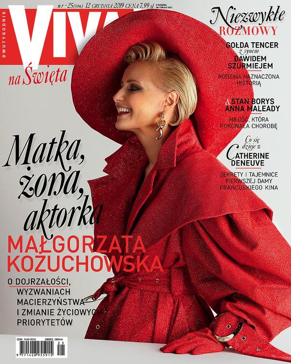 Małgorzata Kożuchowska, Viva! 25/2019, OKŁADKA