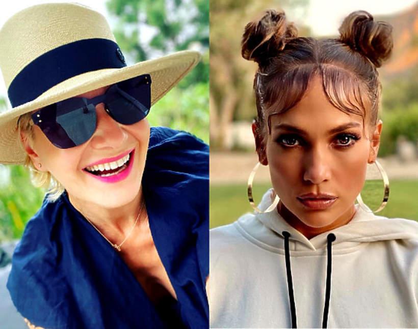 Małgorzata Kożuchowska w stylizacji jak Jennifer Lopez 2020