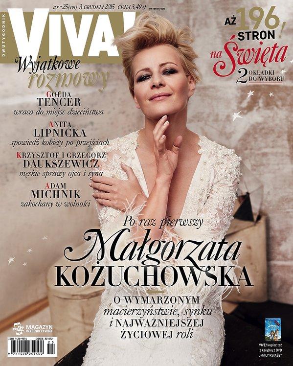 Małgorzata Kożuchowska w sukni Paprocki&Brzozowski