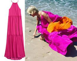 Małgorzata Kożuchowska w zjawiskowej stylizacji na lato 2020! Podobną sukienkę maxi kupisz w Mango