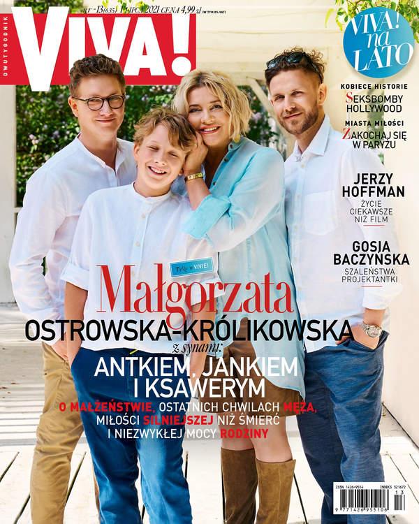 Małgorzata Ostrowska-Królikowska, VIVA! 2021, okładka