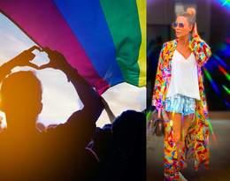 Małgorzata Rozenek-Majdan w tęczowej stylizacji broni protestujących wspierających LGBT!