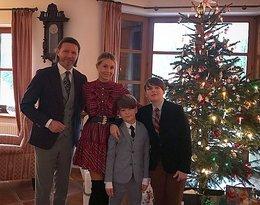 Małgorzata Rozenek-Majdan z rodziną