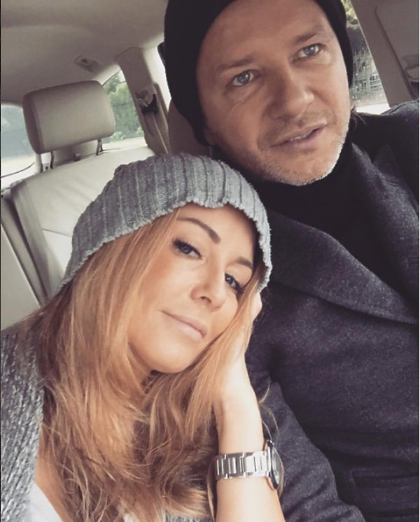 Małgorzata Rozenek_Majdan i Radosław Majdan czułe zdjęcie