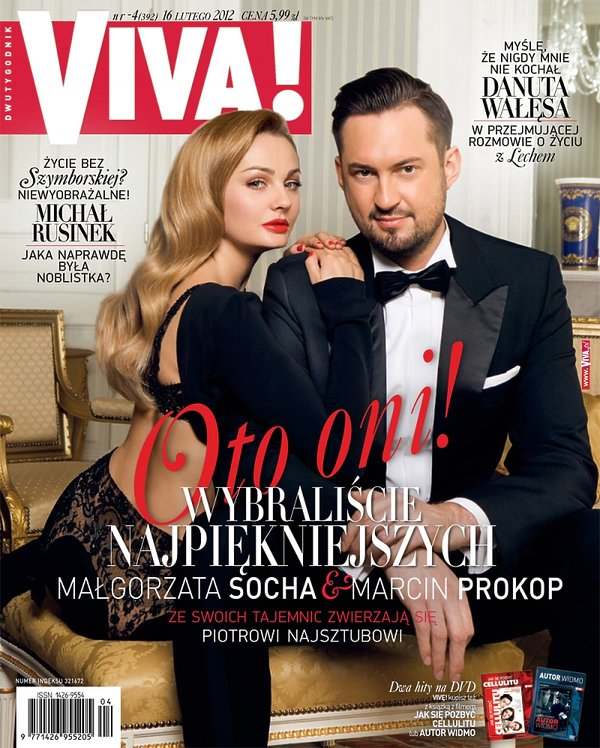 "Małgorzata Socha i Marcin Prokop, ""Viva!"" luty 2012"