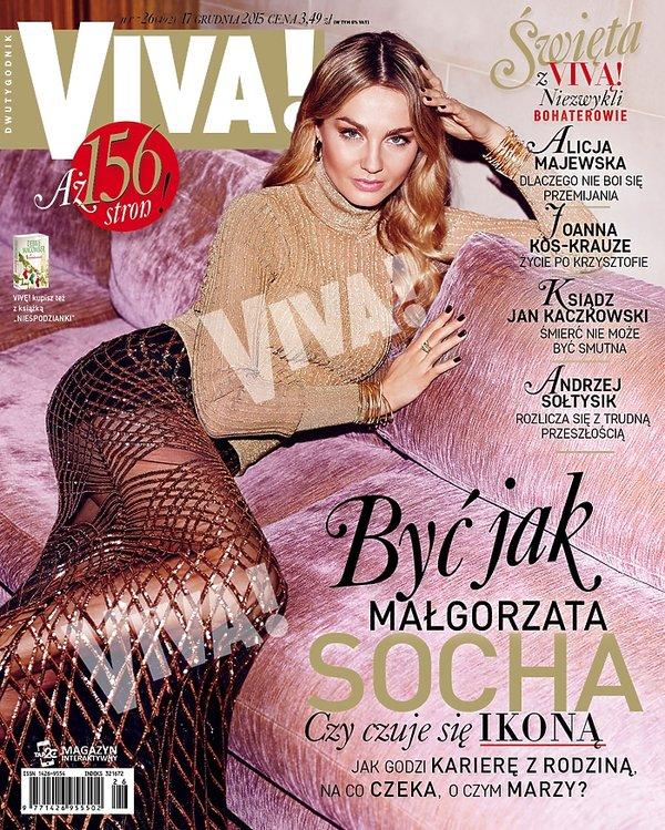 Małgorzata Socha na okładce Vivy!
