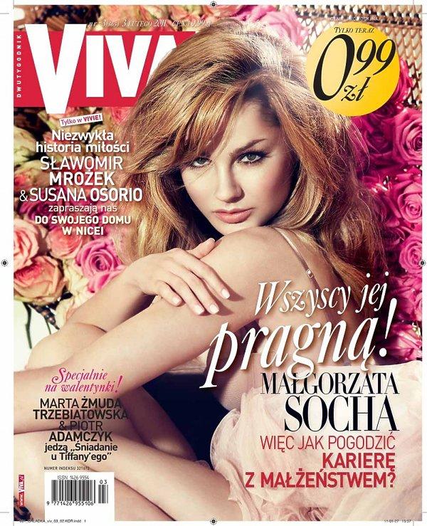 "Małgorzata Socha, ""Viva!"" luty 2011"
